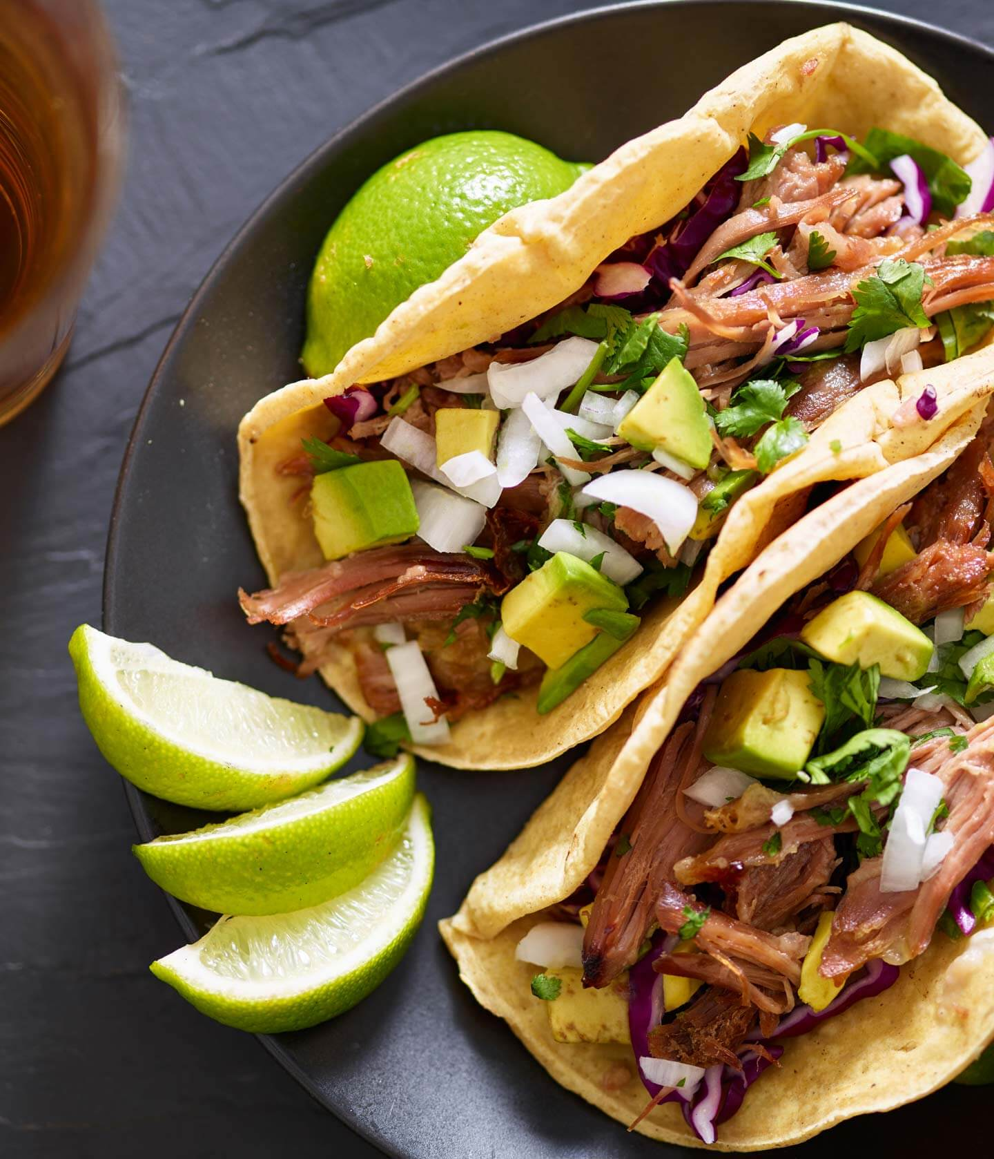 Omega 3 Family Farms - pork tacos